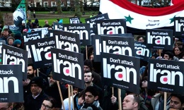 Image courtesy of static.guim.co.uk: Without knowledge of nuclear weapons, America shouldn't go to war with Iran.